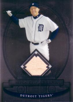 Miguel Cabrera Game Used Bat Card