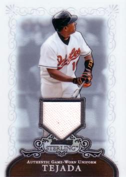 Miguel Tejada Game Worn Jersey Card