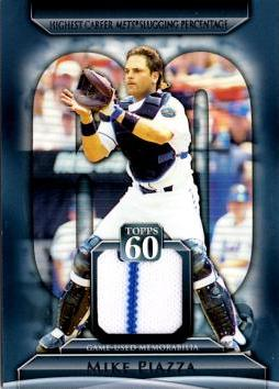 Mike Piazza Game Worn Jersey Card
