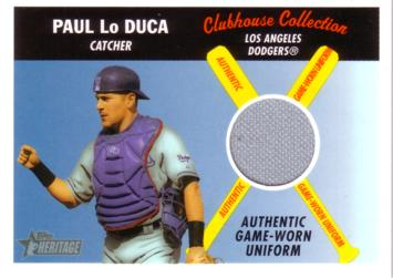 Paul LoDuca Game Worn Jersey