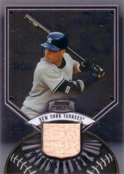 Robinson Cano Game Used Bat Card