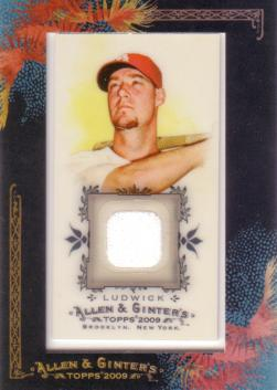 Ryan Ludwick Game Worn Jersey Card