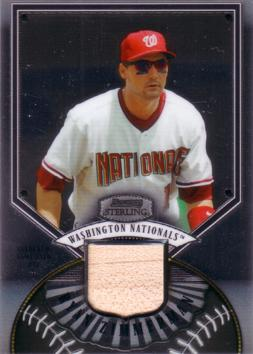 Ryan Zimmerman Game Used Bat Card
