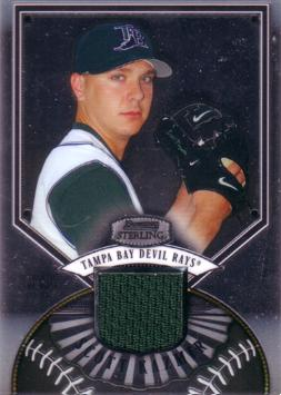 Scott Kazmir Game Worn Jersey Card