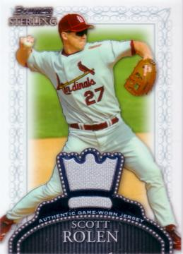 Scott Rolen Game Worn Jersey Card