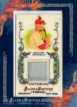 2011 Topps Allen & Ginter Shane Victorino Game Worn Jersey Card