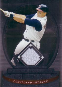 Victor Martinez Game Worn Jersey Card