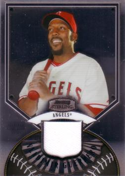 Vladimir Guerrero Game Worn Jersey Card