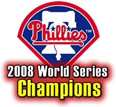 2008 Phillies World Series Rookie Card Team Set