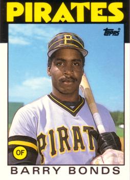 Barry Bonds Rookie Card