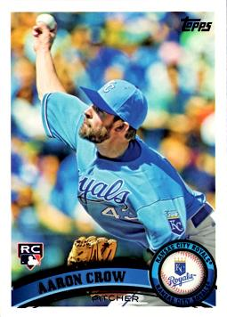 2011 Topps Aaron Crow Rookie Card
