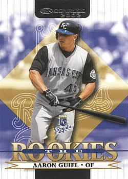 2002 Donruss the Rookies Aaron Guiel Rookie Card