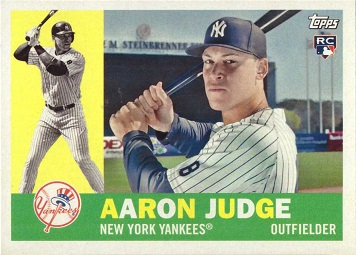 Aaron Judge 2017 Topps Archives Rookie Card