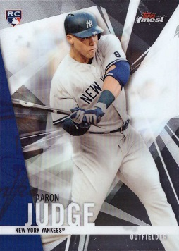 Aaron Judge 2017 Topps Finest Rookie Card