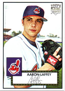 2007 Topps '52 Aaron Laffey Rookie Card
