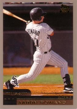 2000 Topps Traded Aaron Rowand Rookie Card