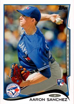 2014 Topps Update Baseball Aaron Sanchez Rookie Card
