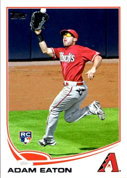 2013 Topps Adam Eaton Rookie Card