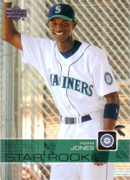 2003 Upper Deck Adam Jones Rookie Card