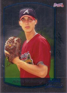 Adam Wainwright Bowman Chrome Rookie Card