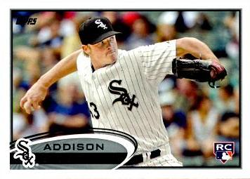 2012 Topps Addison Reed Rookie Card