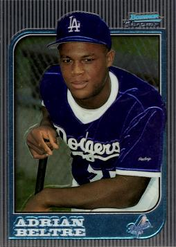 Adrian Beltre Bowman Chrome Rookie Card