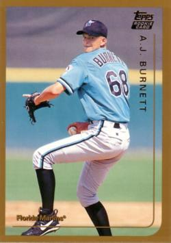 A.J. Burnett Rookie Card