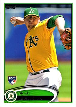 2012 Topps Update A.J. Griffin Rookie Card