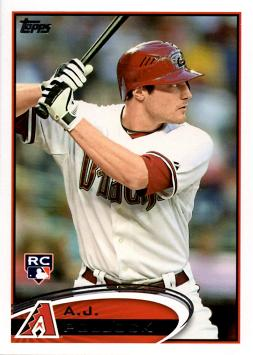 2012 Topps Update A.J. Pollock Rookie Card