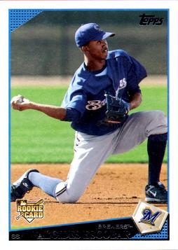 Alcides Escobar Rookie Card