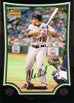 2009 Bowman Draft Picks Alex Avila Rookie Card