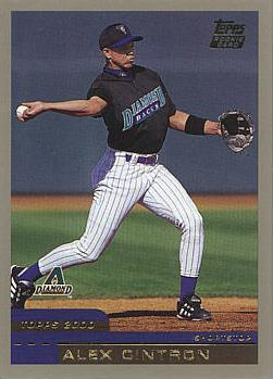 2000 Topps Traded Alex Cintron Rookie Card