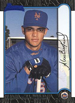 1999 Bowman Alex Escobar Rookie Card
