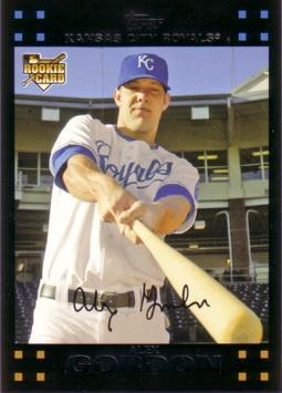 2007 Topps Alex Gordon Rookie Card