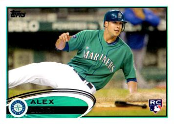 2012 Topps Alex Liddi Rookie Card