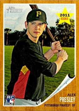 Alex Presley Rookie Card