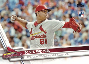 2017 Topps Baseball Alex Reyes Rookie Card