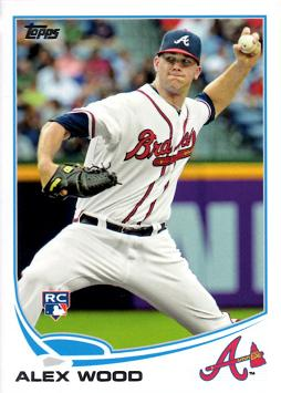 Alex Wood Rookie Card