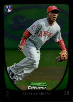 2011 Bowman Chrome Draft Picks Alexi Amarista Rookie Card