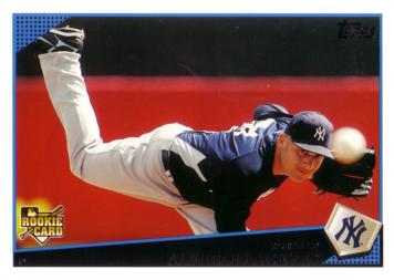 2009 Topps Alfredo Aceves Rookie Card