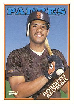 1988 Topps Traded Roberto Alomar Rookie Card
