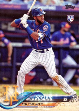 Amed Rosario Rookie Card