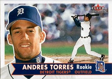 2011 Fleer Tradition Andres Torres Rookie Card