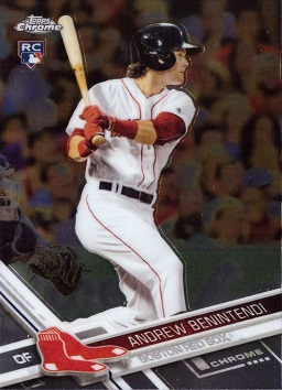 Andrew Benintendi Topps Chrome Rookie Card