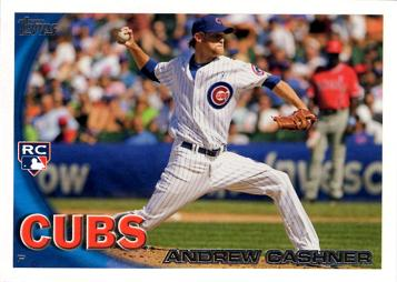 Andrew Cashner Rookie Card