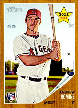 Andrew Romine Rookie Card