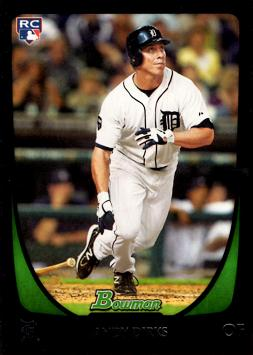 2011 Bowman Draft Picks Andy Dirks Rookie Card