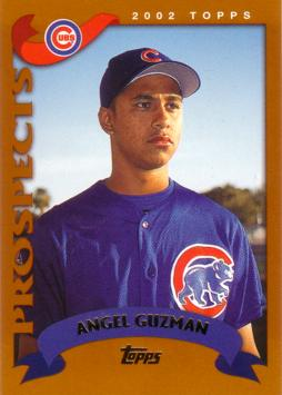 2002 Topps Traded Angel Guzman Rookie Card