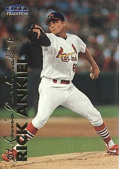 1999 Fleer Update Rick Ankiel rookie card