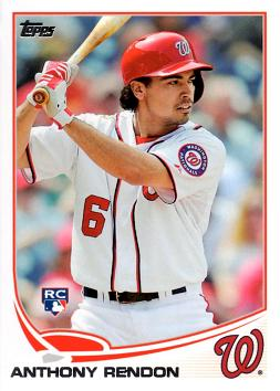 2013 Topps Update Baseball Anthony Rendon Rookie Card